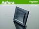 Schneider Electric Asfora - Kapcsoló, váltókapcsoló, kültéri, komplett, antracit