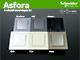 Schneider Electric Asfora - Fényerőszabályzó 20-315W, komplett, fehér