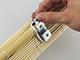 GARDINIA Bambusz roló, natúr, ajtóra: 90x240 cm