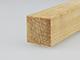 Gyalult fa négyszögléc - fa barkácsléc, skandináv fenyőből (20x20mm)