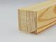 Gyalult fa négyszögléc - fa barkácsléc, skandináv fenyőből (30x30mm)