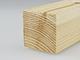 Gyalult fa négyszögléc - fa barkácsléc, skandináv fenyőből (35x35mm)