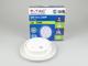 V-TAC Behi oldalfali dekor lámpatest, fehér (9W) meleg fehér