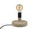 V-TAC Cemento beton talpas asztali lámpa (E27) szürke