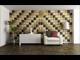 Kerma Design Kerma bőr falpanel, bőrpanel, Melody-345 Barna (25x50 cm)
