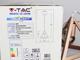 V-TAC Champion-III geometrikus függeszték (E27) pezsgőarany