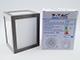 V-TAC Cube oldalfali dekor lámpatest - szürke (12W) meleg fehér