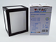 V-TAC Cube oldalfali dekor lámpatest - fekete (12W) meleg fehér
