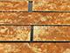 Falburkoló lap - Korfu (rozsdás-vörös, kő hatású)