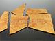 Falburkoló lap - Korzika (terrakotta, kő hatású)