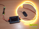 ANRO LED LED szalag dimmer (12-24V DC) - rádiós távirányítóval - 96W