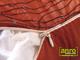 Függöny Center Díszpárna huzat flitteres (28x48 cm) Piros