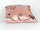 Díszpárna huzat - Georgia (45x45 cm) Rózsaszín