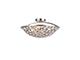 Elmark Djeny modern mennyezeti lámpatest (3xE14) - ezüst