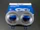 V-TAC Alumínium dupla/tripla spot (3600), 2-es, szálcsiszolt alu