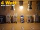 V-TAC LED lámpa E27 (4W/160°) Kisgömb - meleg fehér