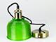 V-TAC Scots vintage csillár (E27) - zöld színű ernyő