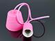 V-TAC E27-es szilikon függőlámpa (minimal lámpatest) - pink