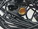 Optonica E27 foglalatos (15 db) fényfüzér (14.4 méter) fekete IP65