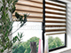 GARDINIA Easy fix sávos roló, fekete, ablakra: 60x150 cm