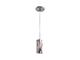 Elmark Erin szimpla króm mennyezeti lámpatest - (E27) - üveg