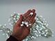 EMOS LED fényfüzér (3.6W/288 LED) hideg fehér, időzítős, sündisznó