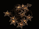 EMOS LED dekoráció (0.6W/10 LED) meleg fehér, fa csillagok