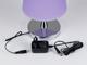 V-TAC Ernyős asztali LED lámpa (5W) lila - természetes fényű