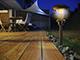Nortene Esis kerti , leszúrható napelemes szolár LED lámpa - barna