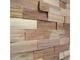 Wallure Wallure Fa panel sávos, dió, széles, hasított-natúr