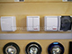Mentavill Kapcsoló (105), dupla, jelzőfény, falon kívüli, (FALA IP44)