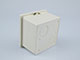 Fali LED vezérlőkhöz beépítő-, szerelődoboz