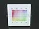 Fali RGB DMX LED vezérlő (DMX-RGBLN) - 144W - fehér