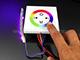 Fali RGB LED vezérlő (RGB04) - 144W - fehér