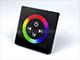 Fali RGB LED vezérlő (RGB04) - 144W - fekete