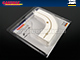 GARDINIA Félköríves lezáró GE1-GK1 karnishoz (2 db)
