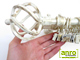 Siero karnis arany-fehér nagygömb véggel, kétsoros, 120 cm