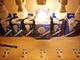 V-TAC LED lámpa E27 Filament (6W/300°) G95 - meleg fehér