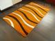 Lares Frizee szőnyeg (0244A) Terra hullám - 200x290 cm
