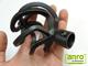 Siero karnis fekete nagygömb véggel, egysoros, 200 cm