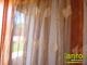 Organza függöny rombusz mintás (290x250 cm) - Rozsda