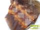 Függöny Center Organza függöny rombusz mintás (290x250 cm) - Rozsda