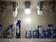 V-TAC LED lámpa E27 (6W/200°) Kisgömb - hideg fehér