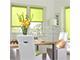 GARDINIA Vászon roló, világoszöld, ablakra: 61,5x150 cm