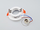 V-TAC Gipsz spot lámpatest (Chrome) süllyeszthető, kör