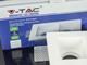 V-TAC Gipsz spot lámpatest (G-spot S-3) gipszkarton síkba építhető