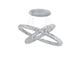 Elmark Glossy ledes design csillár (96W) - természetes fényű