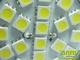 x. LED lámpa GU10 (SMD5050x20/4W/120°) meleg f. (6hó)