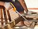 Handy Egyenes fafűrész (fűrészlaphossz 350mm)