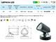 Elmark Homlokzati LED lámpa (9616LEDP) 3W - természetes.f.
